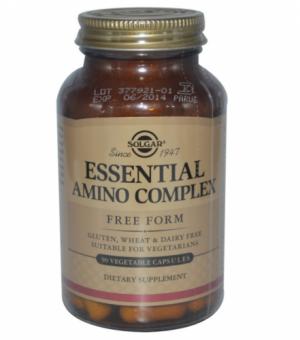 Essential Amino Complex, 90 Veggie Caps - Solgar