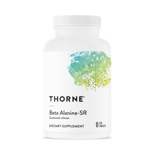 Beta Alanine-SR, 120 Tablets - Thorne Research -SOI**