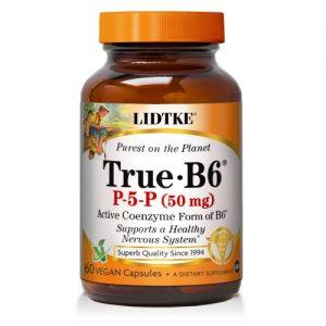 True B6 P5P (P-5-P) - 60 Caps - Lidtke