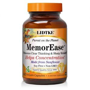 MemorEase - 60 soft gels - Lidtke - SOI*