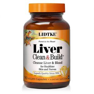 Liver Clean & Build - 90 Caps - Lidtke