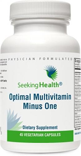 Optimal Multivitamin Minus One - (Free from Methylated B Vitamins) 45 Capsules - Seeking Health