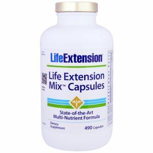 Mix Capsules, 490 Capsules - Life Extension