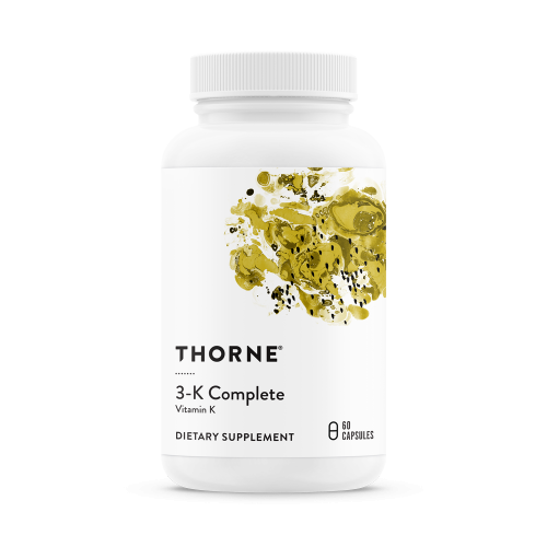 3-K Complete™ (Vitamin K) -  60 Veg Caps - Thorne