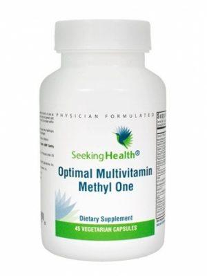 Optimal Multivitamin Methyl One, 45 Veg Caps - Seeking Health