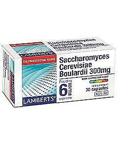 Saccharomyces Cerevisiae Boulardii 300mg - 30 Capsules - Lamberts