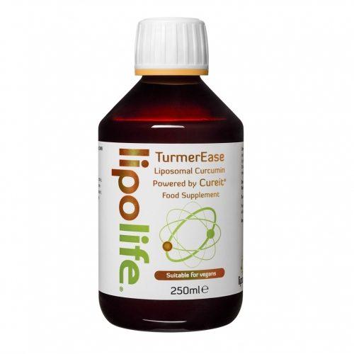 TurmerEase - Liposomal Curcumin - Powered by CureIt - 250ml - Lipolife