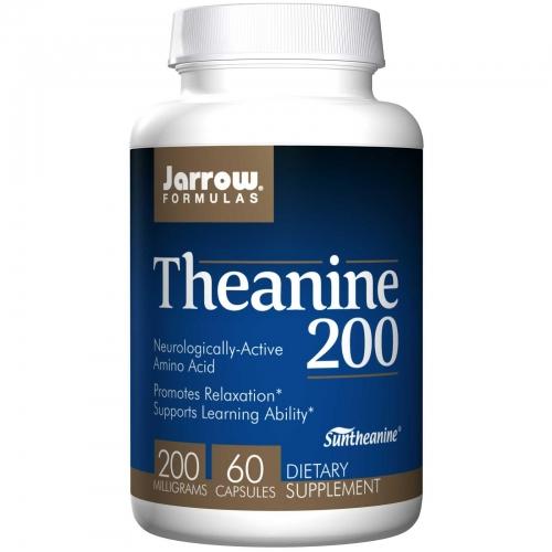 Theanine 200 (200mg) - 60 Veg Capsules - Jarrow Formulas