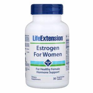 Estrogen for Women (formerly Natural Estrogen) 30 Tablets - Life Extension