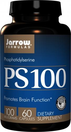 PS100, Phosphatidylserine, 100 mg, 60 Caps - Jarrow Formulas
