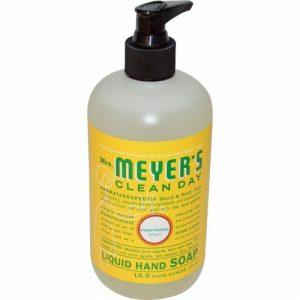 Liquid Hand Soap, Honeysuckle Scent, 12.5 fl oz (370 ml) - Mrs. Meyers Clean Day
