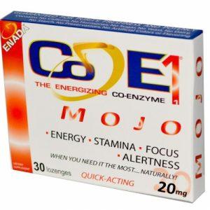 Co - E1, The Energizing Co-enzyme, Mojo, 20 mg, 30 Lozenges