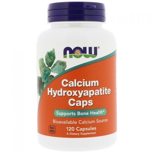 Calcium Hydroxyapatite Caps, 120 Capsules - Now Foods