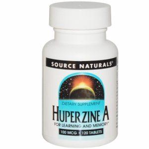 Huperzine A, 100 mcg, 120 Tablets - Source Naturals