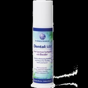 Dentalcidin™ Broad-Spectrum Toothpaste with Biocidin®- Bio Botanical Research