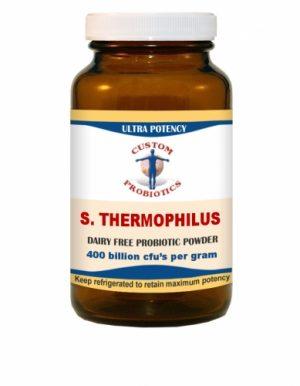 S. Thermophilus Probiotic Powder 100g - Custom Probiotics - SOI**