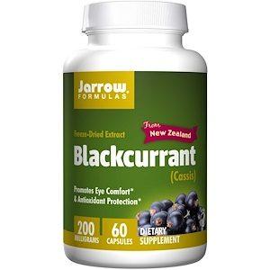Blackcurrant, 200 mg, 60 Veggie Caps - Jarrow Formulas
