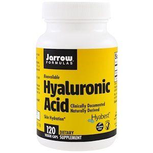 Hyaluronic Acid, 120 Veggie Caps - Jarrow Formulas