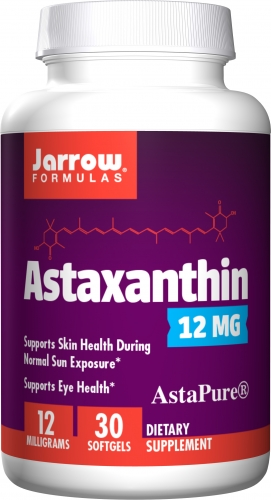 Astaxanthin, 12 mg, 30 Softgels -  Jarrow Formulas
