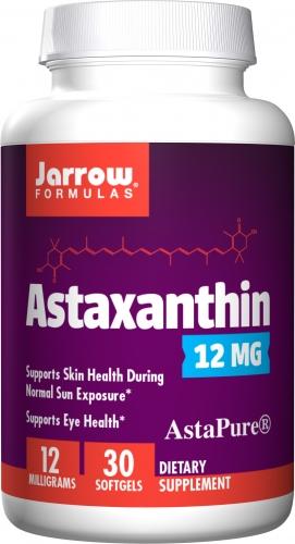 Astaxanthin, 12 mg, 30 Softgels -  Jarrow Formulas