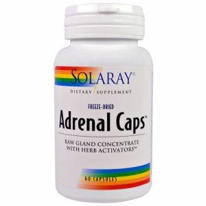 Adrenal Caps, 60 Capsules - Solaray