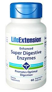 Enhanced Super Digestive Enzymes, 60 veg caps - Life Extension