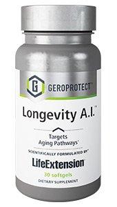 GEROPROTECT® Longevity A.I.30 Softgels - Life Extension