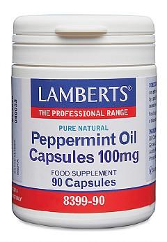 Peppermint Oil Capsules 100mg- 90 Capsules- Lamberts