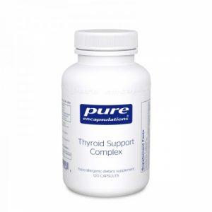Thyroid Support Complex 120 Capsules- Pure Encapsulations