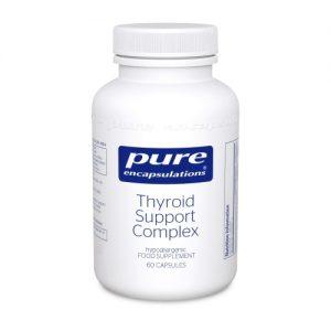 Thyroid Support Complex 60 Capsules- Pure Encapsulations