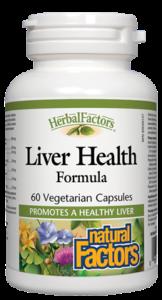 Liver Health Formula, 60 Caps - Natural Factors - SOI**