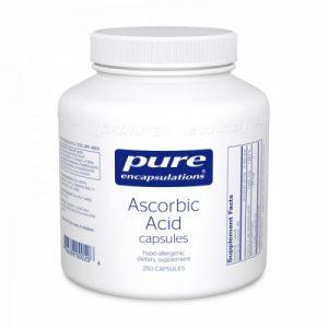 Ascorbic Acid - 250 Capsules - Pure Encapsulations