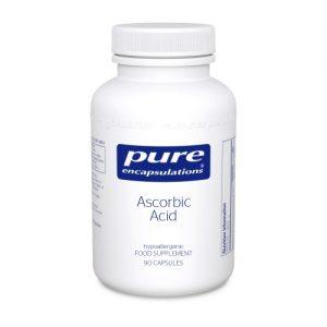 Ascorbic Acid - 90 Capsules - Pure Encapsulations