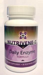Nutrivene-D Daily Enzyme - 90 Caps