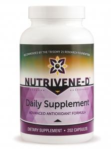 NuTriVene-D Daily Supplement Capsules - 294 Caps - New Formula
