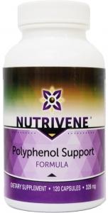 Nutrivene Polyphenol Support Formula with EGCG - 120 Caps