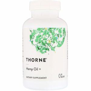 Hemp Oil +, 30 Gelcaps - Thorne Research