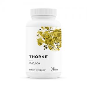 Vitamin D3/D-3 - D-10000 - 60 Veg Caps - Thorne