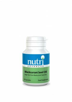 Blackcurrant Seed Oil (GLA) 60 Caps - Nutri Advanced