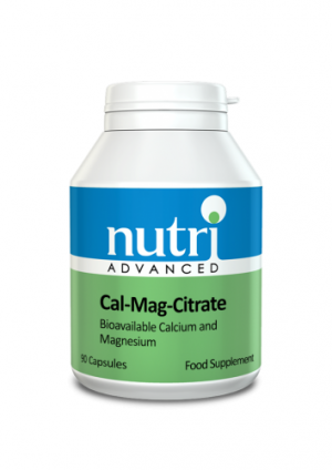 Cal-Mag Citrate 90 Capsules - Nutri Advanced