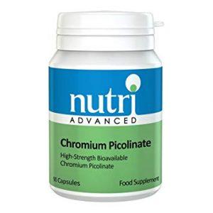 Chromium Picolinate 90 Capsules - Nutri Advanced