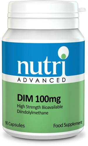 DIM 100mg 90 Capsules - Nutri Advanced
