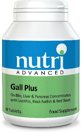 Gall Plus 90 Tablets - Nutri Advanced