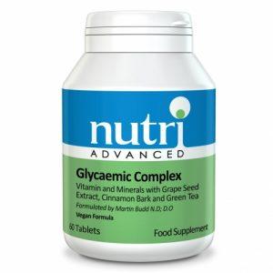 Glycaemic Complex 90 Tablets - Nutri Advanced