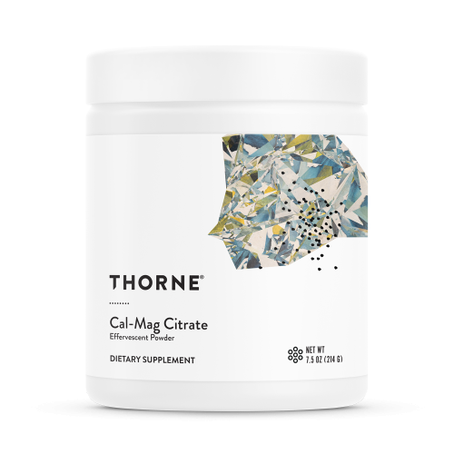 Cal-Mag Citrate (Effervescent Powder) 7.5oz (214 g) - Thorne