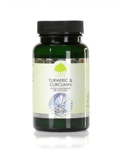 Turmeric & Curcumin - 60 Capsules - G&G Vitamins