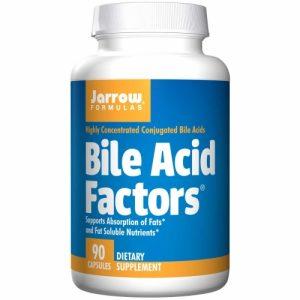 Bile Acid Factors (333mg) - 90 Capsules - Jarrow
