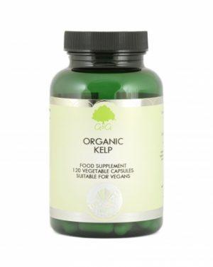 Organic Kelp 500mg 120 Capsules - G&G Vitamins
