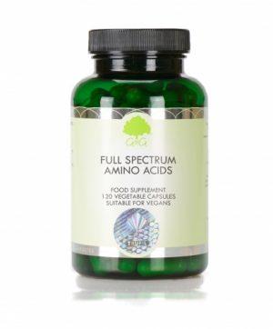 Full Spectrum Amino Acids 120 Capsules - G&G Vitamins