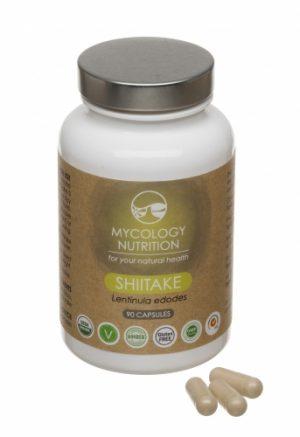 Shiitake (Lentinula edodes) 90 capsules - Mycology Nutrition